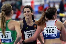 La mallorquina Caridad Jerez, campeona de España en pista cubierta de 60 metros vallas
