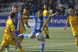El Atlètic Balears empata en casa ante el Llagostera y se aleja del objetivo