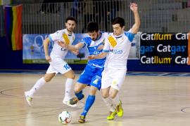 El Palma Futsal sufre para lograr la victoria en Santa Coloma