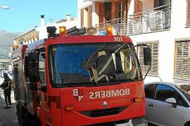 Un incendio obliga a desalojar un edificio en Capdepera