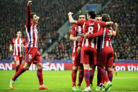 El Atlético de Madrid vence y encarrila la eliminatoria en Leverkusen