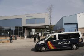 La Policía Nacional registra por segunda vez la empresa Roig por el caso IME