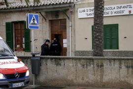 Un niño de cuatro años fallece en el colegio Sant Francesc d'Assís en Es Pil·larí