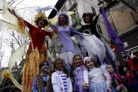 Sa Rueta 2017, el carnaval de los más pequeños en Palma