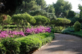 Marivent abrirá al público sus jardines «seguramente» después de Semana Santa