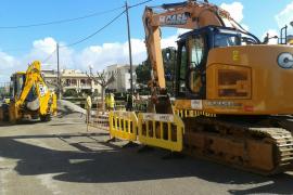 El Ajuntament de ses Salines destina más de 350.000 euros a obras de mejora y reforma de pluviales
