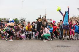 Alegría, color y diversión en los colegios Puig d'en Valls y S'Olivera
