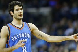 Álex Abrines vive su mejor noche en la NBA