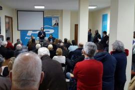 Bauzá, en su primer acto de campaña con Aina Aguiló: «Solo unidos conseguiremos gobernar en Balears»