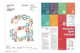 Las propuestas de Maggy Villarroel y Damià Matas, ganadoras de la nueva línea gráfica de Art Jove