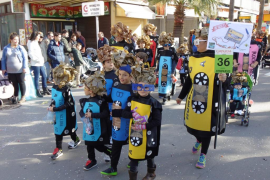 Carnaval en la Platja de Palma, desfile junto al mar