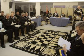 La Gran Logia de masones de Balears celebra sus 25 años de actividad