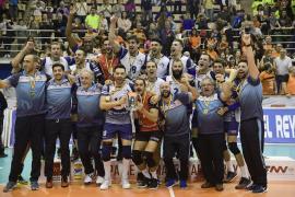 El Can Ventura Palma se proclama campeón de la Copa del Rey de voleibol