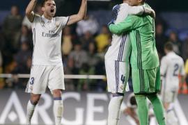 El Real Madrid evita la derrota en Villarreal con una intensa segunda parte