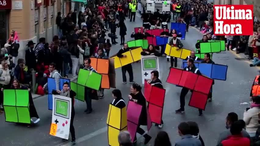 Una Rua muy creativa
