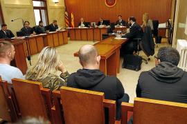 Condenada una banda a once años de cárcel por vender droga en Palma