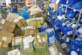 La Policía Local de Palma pide permiso al juzgado para destruir miles de objetos incautados