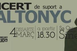 Concierto solidario con Valtonyc en sa Quintana de Sineu