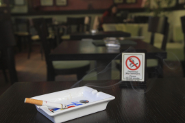 Los restauradores de Mallorca avisan que no harán «de policías» con la Ley Antitabaco