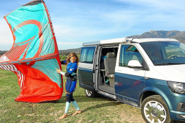 VW Vehículos Comerciales patrocina a Gisela Pulido