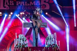 El 'drag' ganador del Carnaval de Las Palmas no cree que su espectáculo sobre la virgen y la crucifixión sea ofensivo