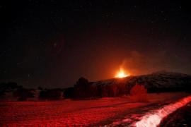 El volcán Etna ha entrado en erupción