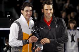 Nadal y Federer echan a andar en la exhibición de Abu Dabi