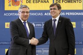 Blanco dice que Fomento invertirá 87 millones en Balears, pese a la crisis