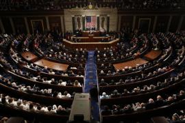 Trump, lejos del tono apocalíptico de su discurso de investidura, defiende su agenda ante el Congreso