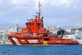 Salvamento Marítimo suspende la búsqueda del tripulante de un velero encontrado a la deriva
