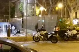 Ofensiva policial contra la venta de droga y los actos vandálicos en la plaza Fleming