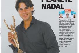 Nadal, Campeón de Campeones para 'L'Equipe'