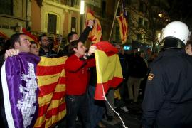 La Policía intenta identificar a los autores de la agresión en la manifestación independentista