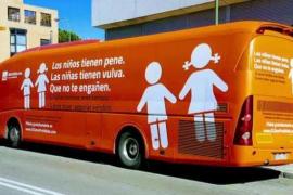 Un juzgado de Madrid prohíbe de forma cautelar la circulación del autobús de Hazte Oír