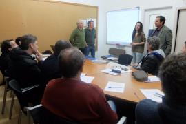 Diez parados de más de 30 años trabajan en el proyecto 'Sa Tanca de Son Amer'