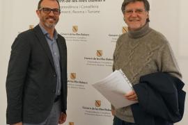 Joan Mir cede la escultura 'La Balanguera' de su padre Jaume Mir al Centre Balears Europa