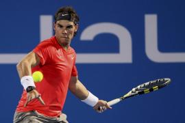 Nadal se enfrentará a Federer en su tercera final en Abu Dabi