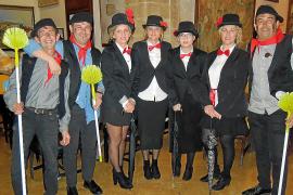 Baile de carnaval en el Club Pollença