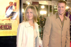 Después del divorcio del actor, Brad Pitt y Jennifer Aniston reanudan su amistad