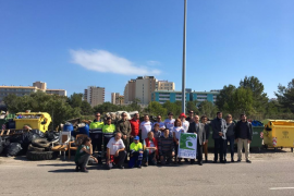 Calvià recolecta 1.820 kilos de residuos procedentes de la Marina de Magaluf