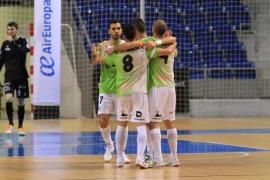 El Palma golea al Santiago Futsal