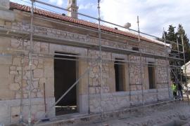 Las obras de la línea férrea Manacor-Artà restauran y protegen un valioso patrimonio