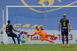 Un polémico penalti evita que el Mallorca sume los tres puntos en Murcia