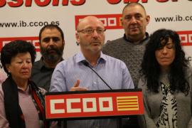 José Luis García anuncia su candidatura para la reelección como secretario general de CCOO en Baleares