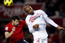 Kanouté pone fin a la mala racha en Liga del Sevilla ante el Osasuna