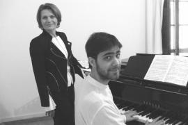 Waltraud Mucher y Magí Garcías interpretan en la Sala Dante 'Winterreise'