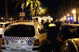 Detenido un mallorquín que salió armado con un cuchillo por Palma para «agredir a 'forasters'»