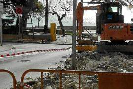 Quejas por las obras en la primera línea turística de Cala Millor