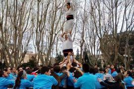 'Castellers' madrileños