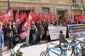 Concentraciones de UGT y CCOO en apoyo al paro internacional por el Día de la Mujer